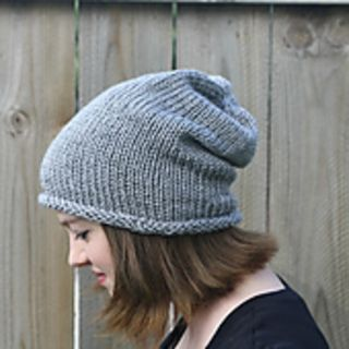 Free! Great first hat pattern to learn how to knit in the round.