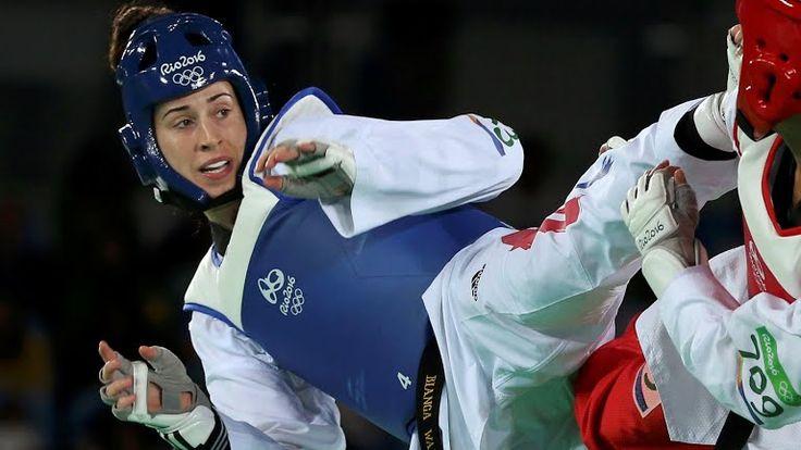 Bianca Walkden wins bronze in Women's over 67 kg taekwondo Rio 2016