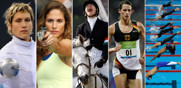The Pentathlon, a 100-year-old Olympic event is obscure and unpopular—yet it represents much of what's great about the Games