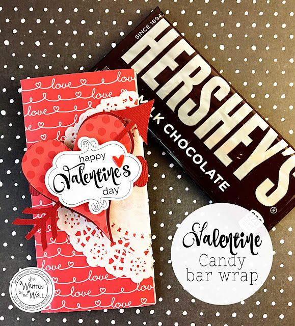 Check out these Valentine's Day Candy Bar wraps-Chocolate Elevated!