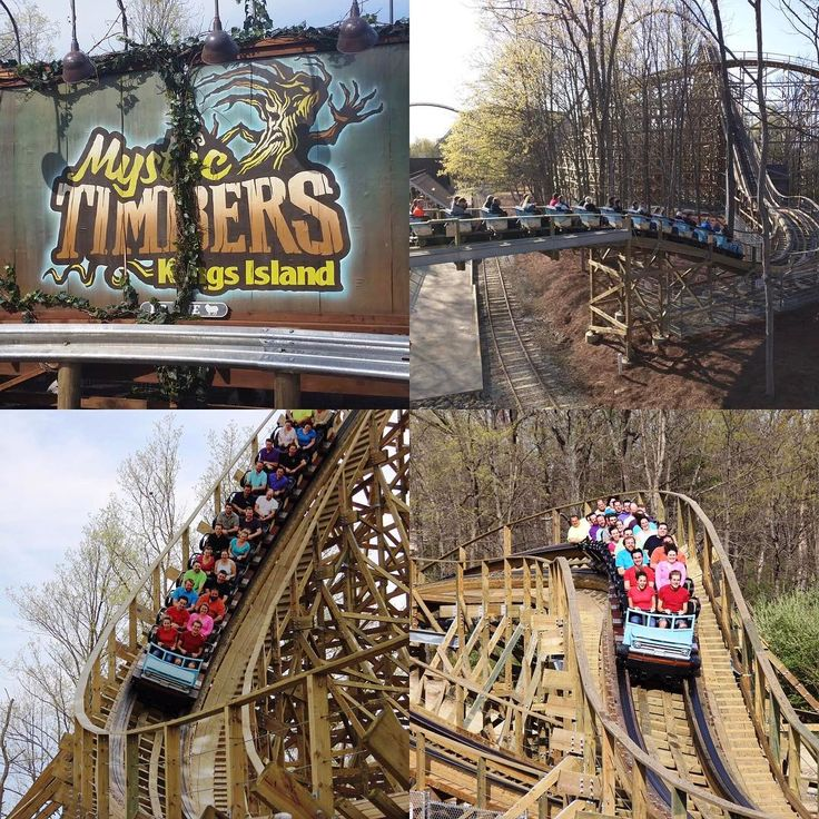 It's #TriviaTuesday and Mystic Timbers has arrived at Kings Island! DYK that the wooden coaster is 3,265 feet long??