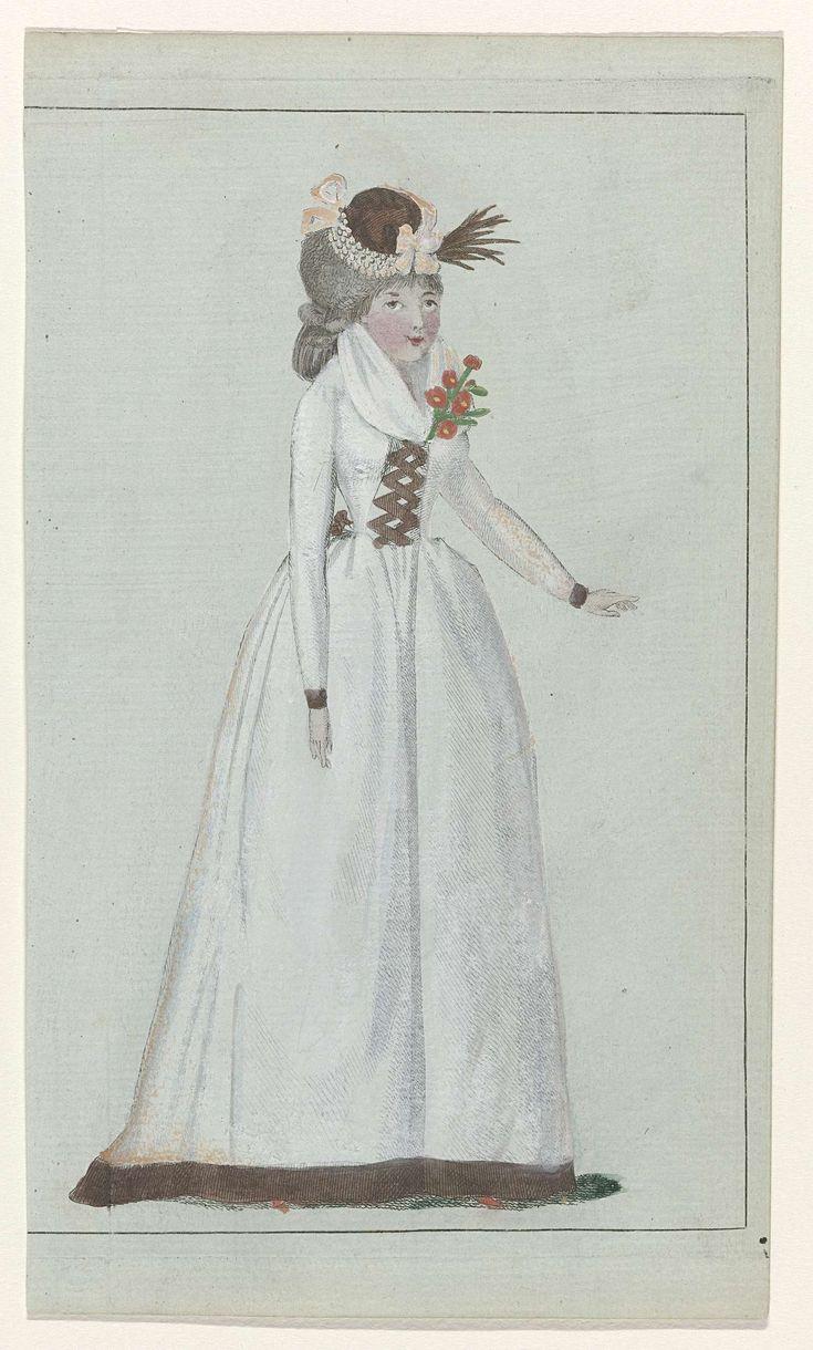 Journal de la Mode et du Goût, 10 octobre 1792, 23e cahier, pl. 2, M. Le Brun, 1792