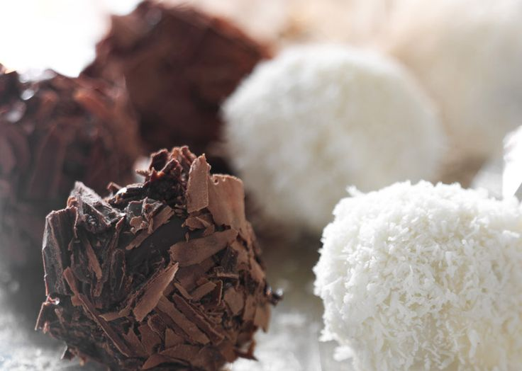 Chokolade trøfler