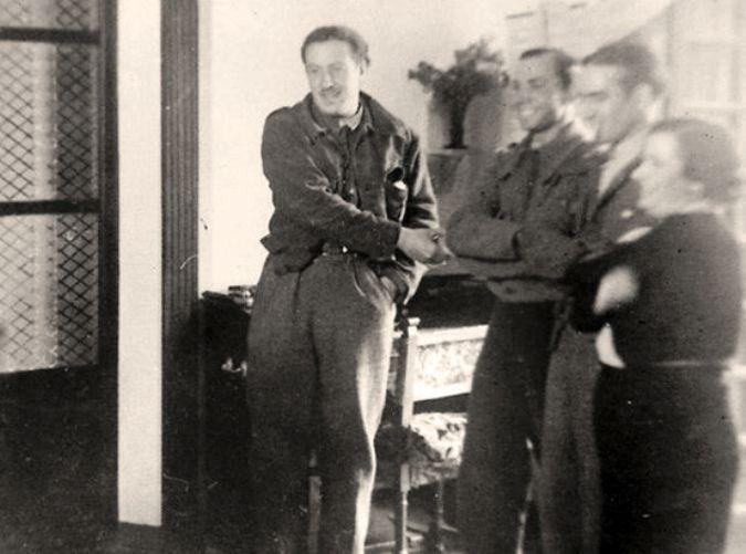 Spain - 1936-37. - GC - Retrato de Miguel Hernández
