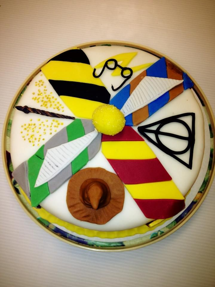 I made a Harry Potter cake! - Imgur