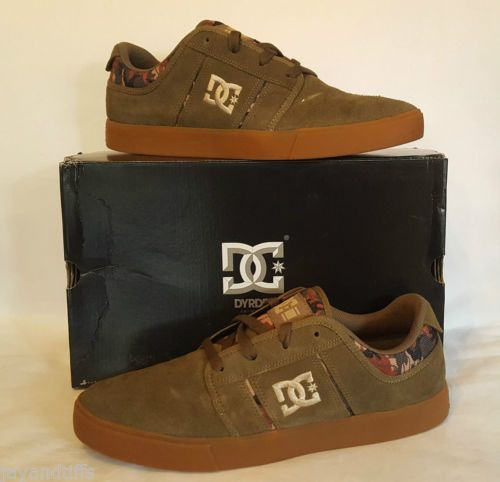 DC-Rd-Grand-SE-Scarpe-da-ginnastica-Scarpe-Skate-MILITARE-Trainer-Shoe-Taglia-10