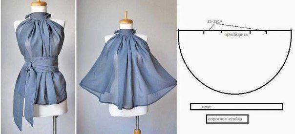 Не всегда красивая и оригинально сидящая вещь - это сложный крой и умопомрачительный дизайн  Предлагаем вам подборку из шести платьев и блуз, которые скроены очень просто, но за этой простотой спрятана легкость и изысканность