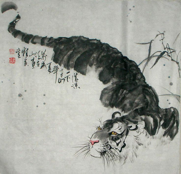 Hand painted chinese painting tiger chinese painting the leading chinese painting supplier in china have huge selection of original chinese art painting