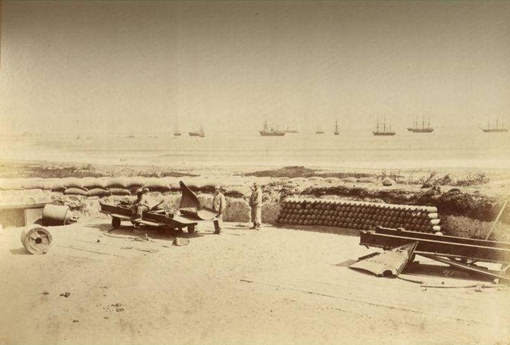 Arica, Fuerte San José, cañones Parrott de 150 lb