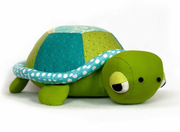 Turtle tortoise toy sewing pattern