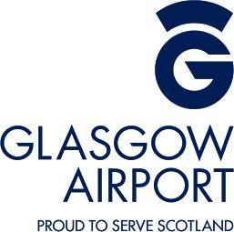 Glasgow Airport logo #GLA in Scottland.   design: www.designlinecreative.co.uk