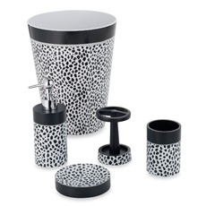 I Want To Paint My Bathroom Teal And Have Black And White Accessories.  Cheetah,