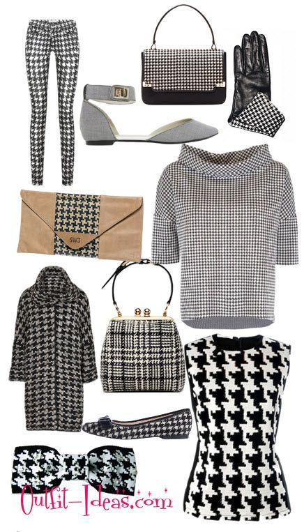 27 best pied de poule vs pied de coq images on pinterest houndstooth handbags and alfred dunner. Black Bedroom Furniture Sets. Home Design Ideas
