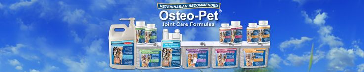 Osteo-Pet products from Amazon.com