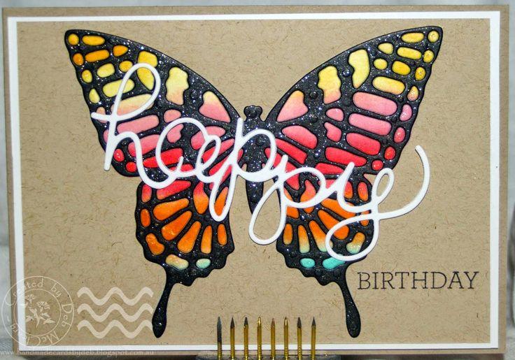 Handmade Cards by Deb: third entry into Kraft+ February Challenge ~ Mango Breeze