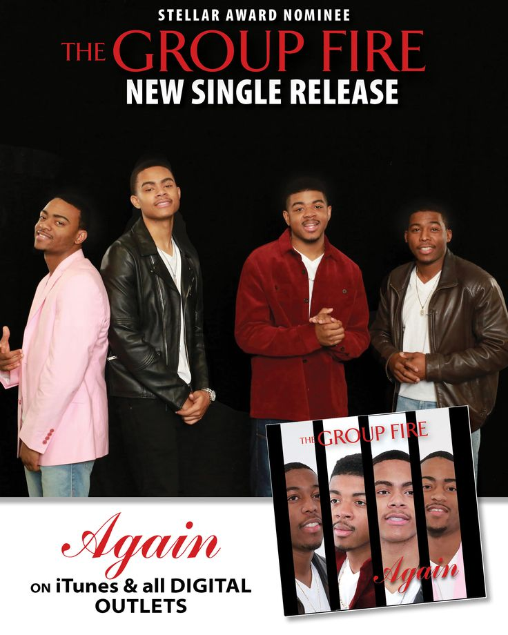 The Group Fire New Single AGAIN Available on all