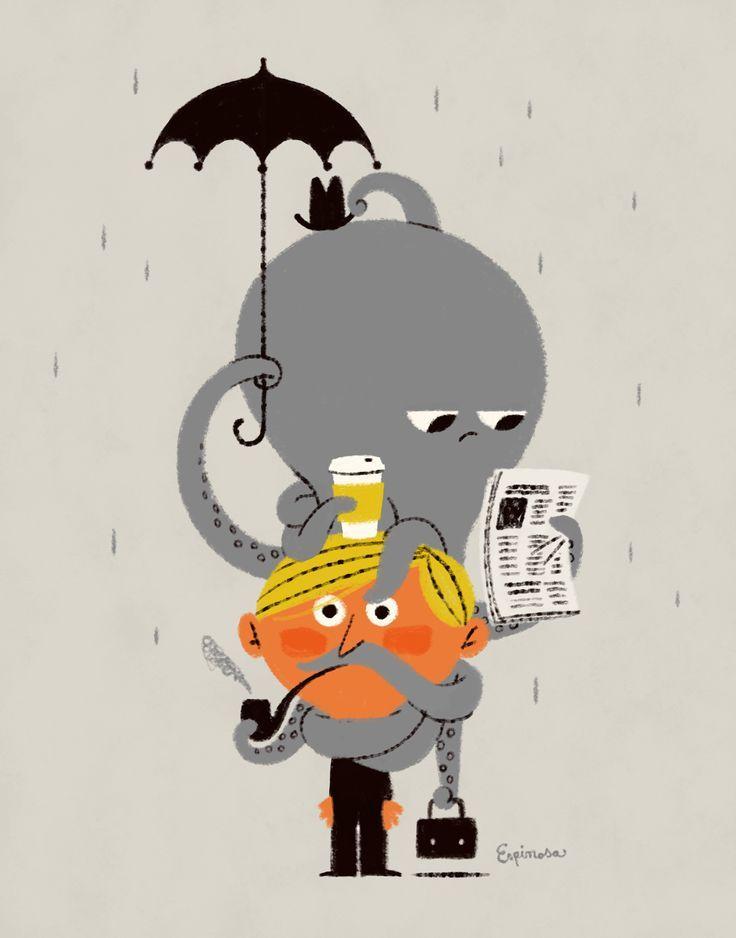 Image result for octopus illustration