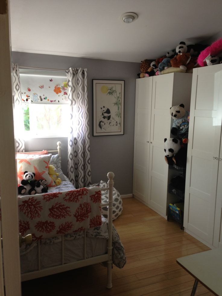 Little girls room courtesy of ikea closet systems for Girls room ikea