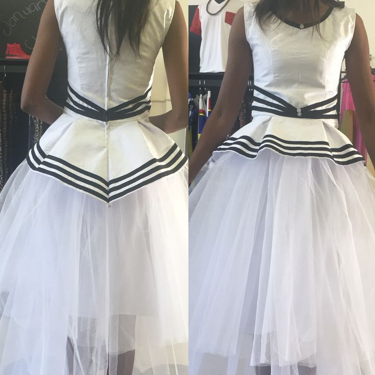 Xhosa vibes meet tutu skirt. Unfinished product.