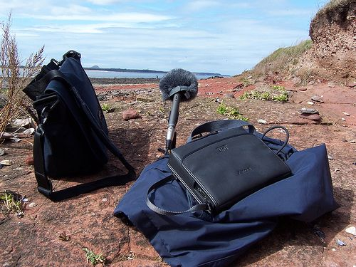 """A Beginner's Guide to Field Recording. Tip in the comments: """"A type of HDR technique, where you record using 2 matched microphones at different input levels - 1 significantly lower than the other. In this way, you can safely capture the attack of one sound with the mic of lower gain, and still capture the sound of the decay with the mic of higher gain"""""""