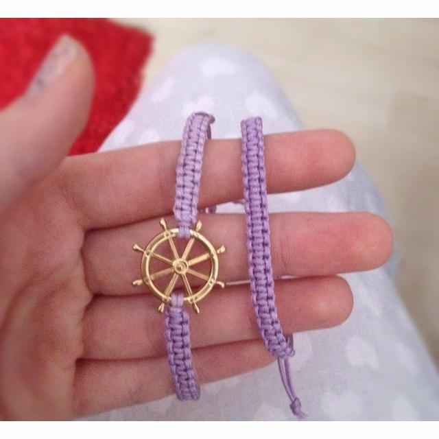 Handmade Macramé bracelet! More at www.ateliaaa.com or Facebook 'Atelia'