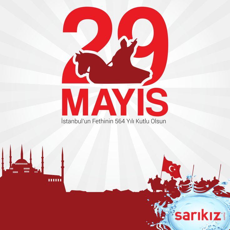 29 Mayıs İstanbul'un fethinin 564. yılı kutlu olsun! #29Mayıs1453 #İstanbulunFethi #Sarıkız