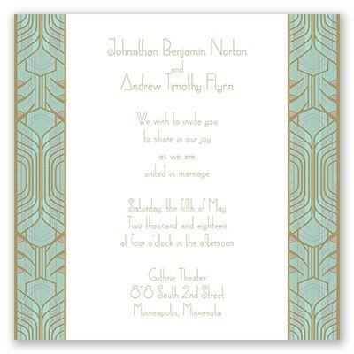 Grand Presentation Wedding Invitation | David Tutera at Invitations By Dawn