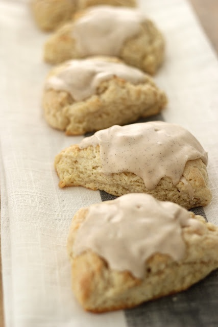 Get extra sweet with our Sutter Home Pink Moscato and these vanilla bean scones! Yum!