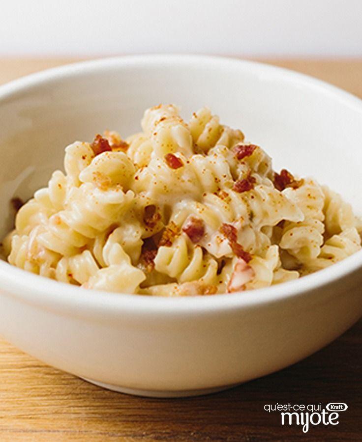 Macaroni au fromage jalapeno pour deux #recette