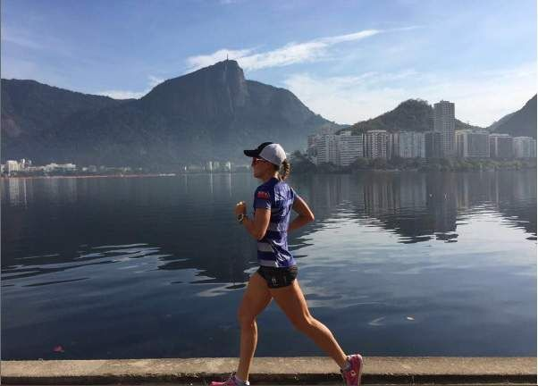 Flora Duffy goes in hot pursuit of an Olympic Games medal in the women's triathlon this weekend and believes the hilly course at Fort Copacabana