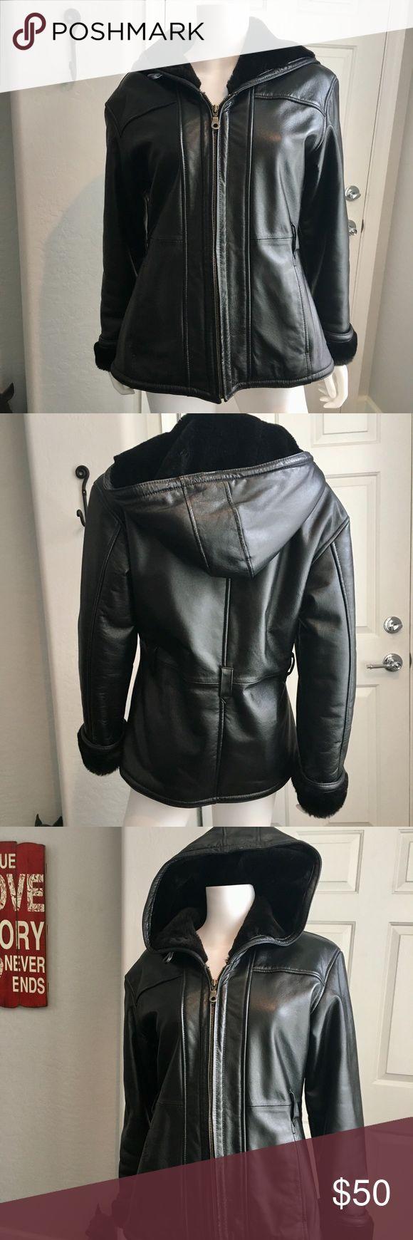 Wilson's Leather Women's Leather Jacket Coat EUC Excellent