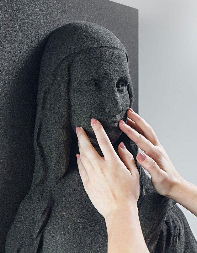 impressão 3D permite que cegos apreciem grandes obras de arte