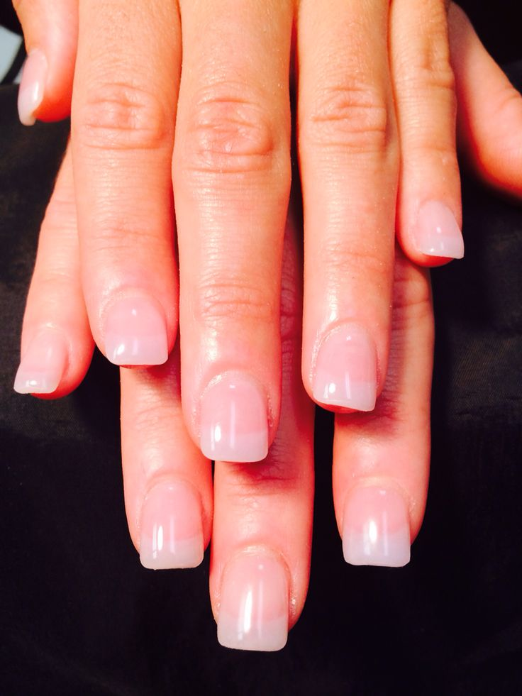 Natural Acrylic Pink & White (American)