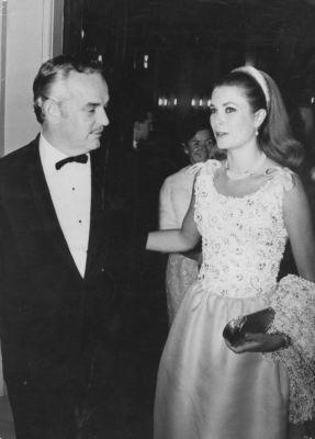 Prince Rainier and Princess Grace