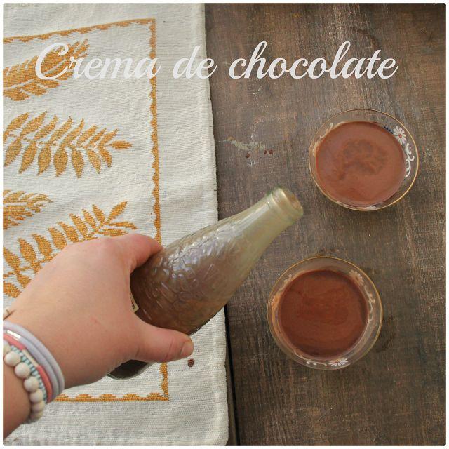 MI ADORABLE COCINA: LICOR CREMA DE CHOCOLATE
