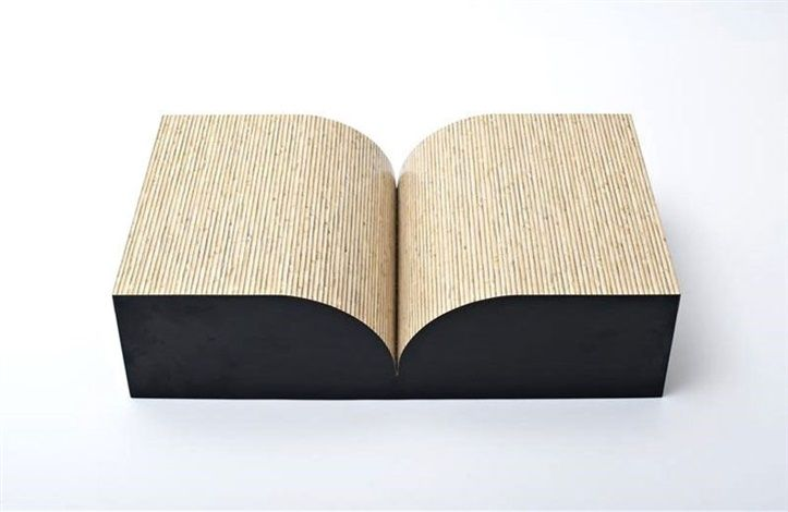 Richard Artschwager, Book, 1987, Formica on wood, Edition of 40. 5 x 20 x 12 in.
