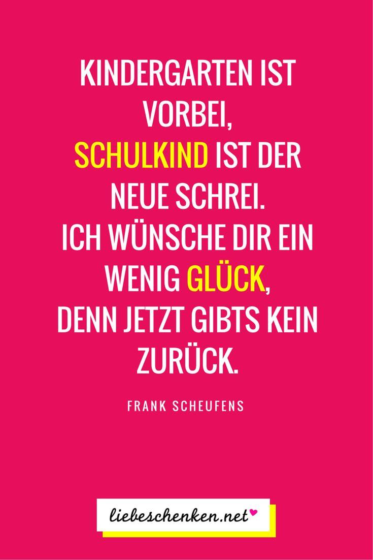 Gedichte & Sprüche zur Einschulung // Glückwünsche