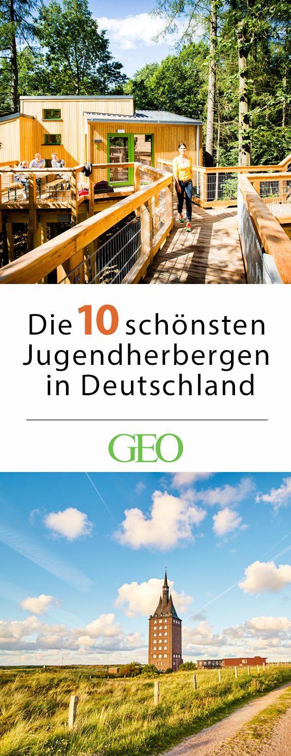 Die zehn schönsten Jugendherbergen in Deutschland – Rosemarie Weber