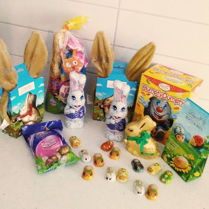 Easter Egg shopping done!  #easter #easteregg #chocolate #almosthere