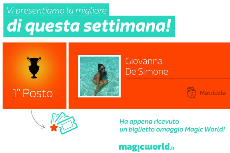 Il secondo vincitore MyMagic di Giugno!  Ecco chi è: http://www.magicworld.it/?p=40842