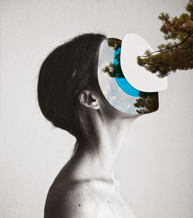 photo collages by Rocio Montoya | http://ineedaguide.blogspot.it/2015/01/rocio-montoya-update.html #art #photography #collage