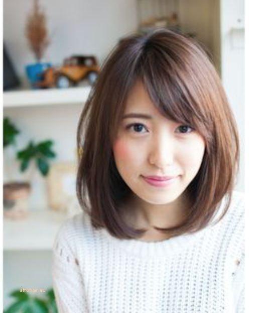 Schöne Frisuren für schulterlanges feines glattes Haar