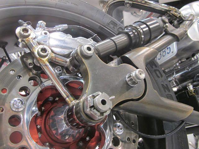 motorcycle rear suspension | Pin-up Motorcycle Garage*: Rear shocks
