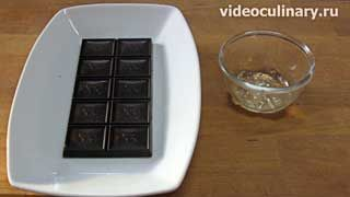 Ингредиенты для приготовления Шоколадные розы