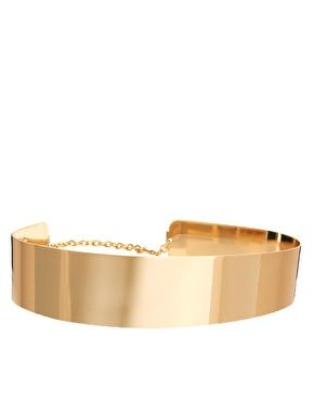ASOS Full Metal Waist Belt...A must have for winter and I dare say through summer. A left over from the 70s disco-glamour reborn.