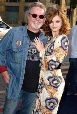 Amber Tamblyn and father Russ Tamblyn (Riff of west side story)