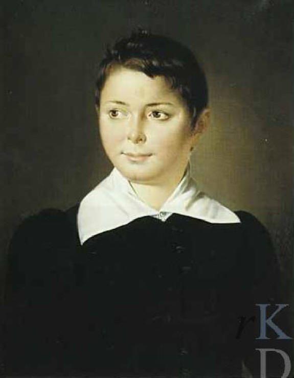 Raden Saleh (Indonesian: 1811 - 1880) - Portrait Henricus Joannes Menu http://www.radensaleh.net/