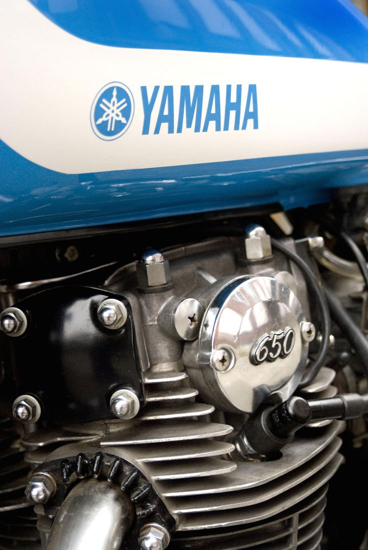 The base bike was a 1980 xs650 in a very poor state cylinders where - Yamaha Xs650 7