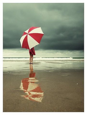 UmbrellaMaya Angelou, Atthebeach, The Ocean, Quote, At The Beach, Red Umbrellas, Storms, Rainy Days, The Sea