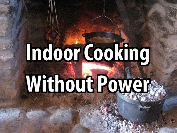 how to cook a meal without power
